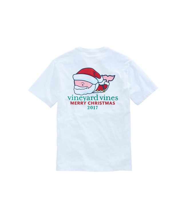 Mr. Claus Whale Pocket T-Shirt