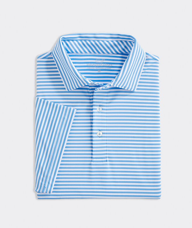 Blank Winstead Stripe Sankaty Performance Polo