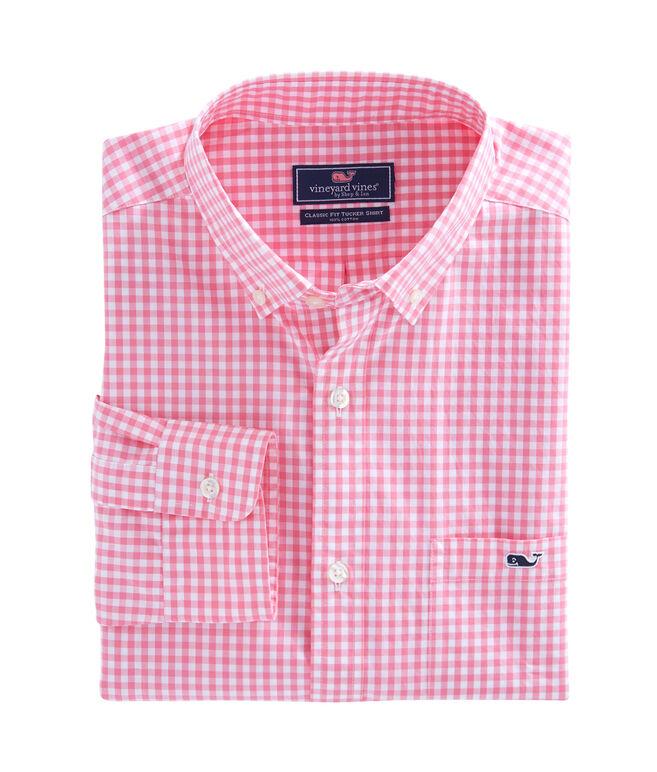 Miller Gingham Classic Tucker Shirt