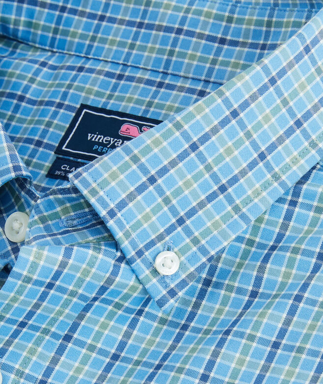 Classic Fit Delancey Cotton Performance Tucker Shirt
