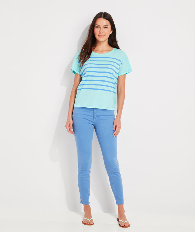 Placed Stripe Surftee