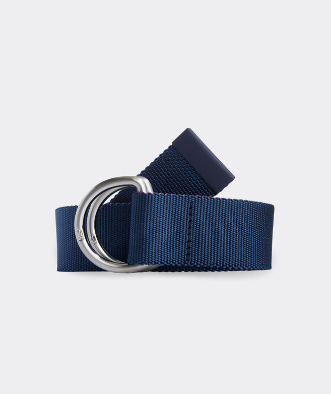 Two-Tone Performance D-Ring Belt