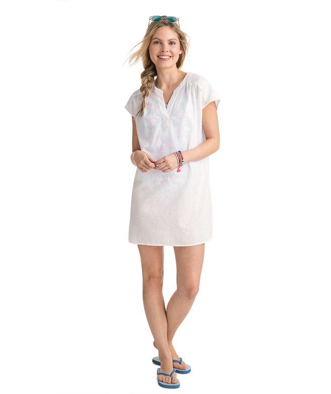 Shop Dolman Sleeve Cover Up Dress At Vineyard Vines