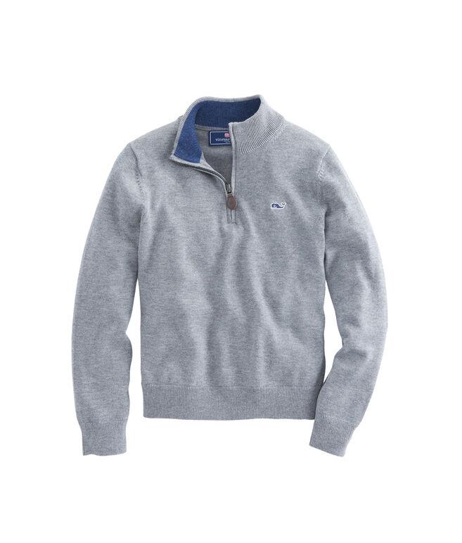 Boys Classic 1/4-Zip Sweater