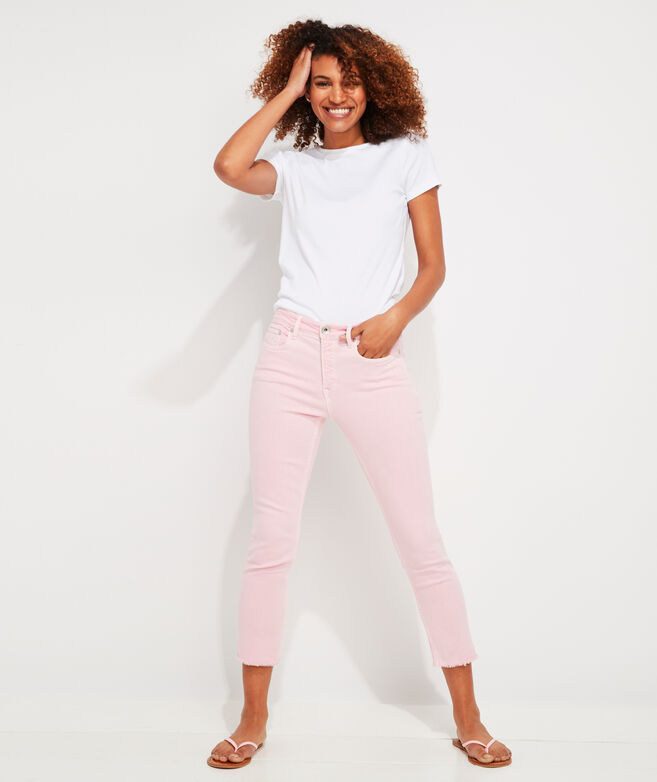 Straight Crop Jamie High-Rise Jeans
