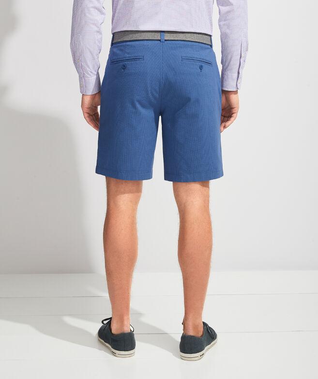 9 Inch Seersucker Shorts