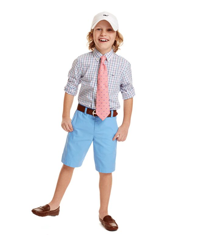 Boys Summer Twill Breaker Shorts