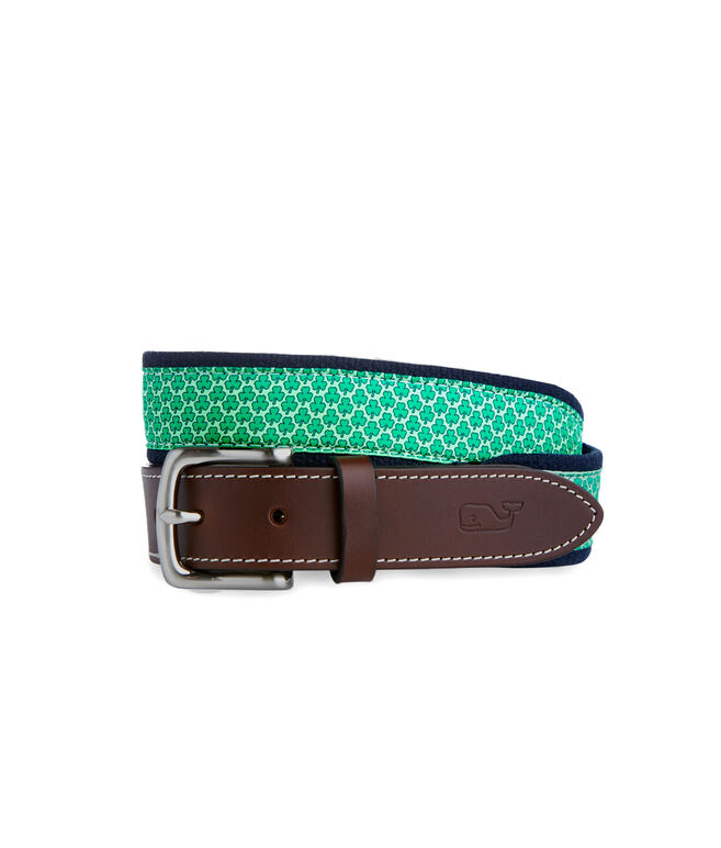 Shamrock Canvas Club Belt