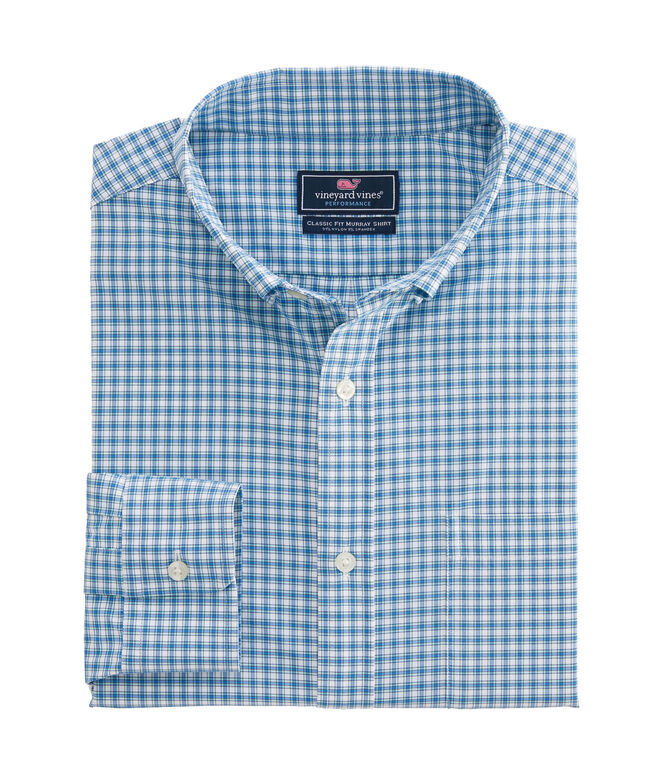 Classic Fit Amagansett On-The-Go Performance Murray Shirt