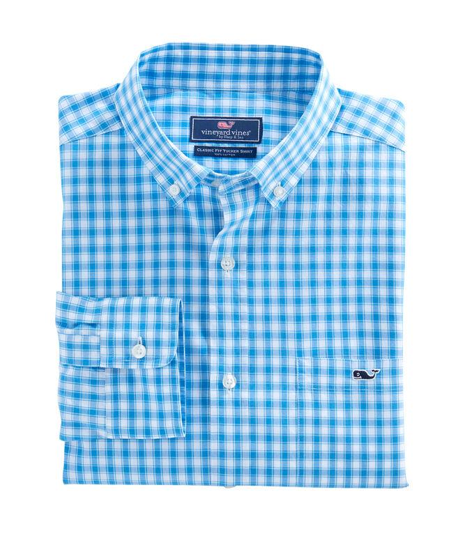 Peyton Check Classic Tucker Shirt