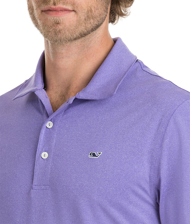 Heather Hanover Performance Polo