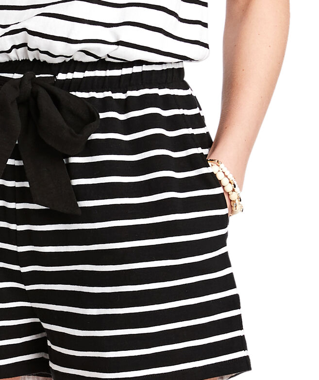 Mixed Stripe Romper