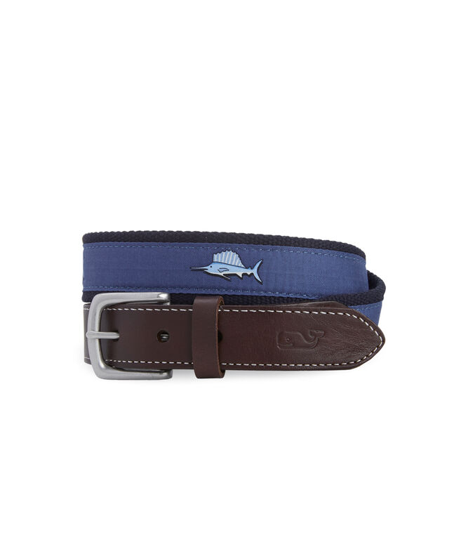 Sailfish Canvas Club Belt