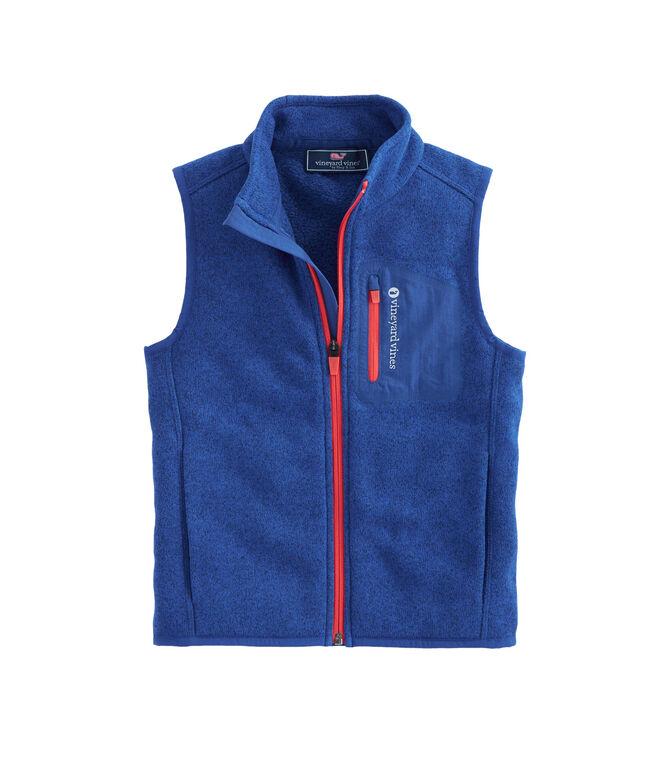 Boys Sweater Fleece Vest
