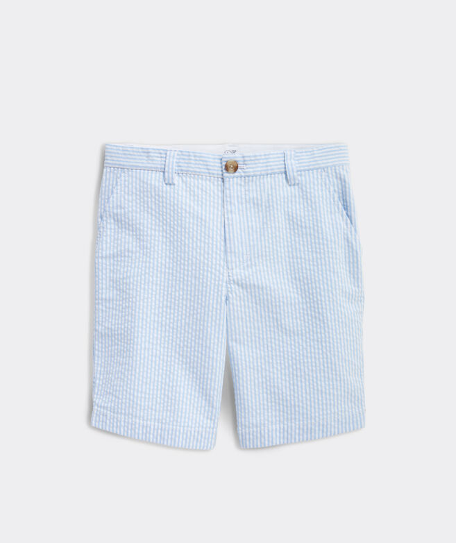 Boys' Stretch Seersucker Breaker Shorts