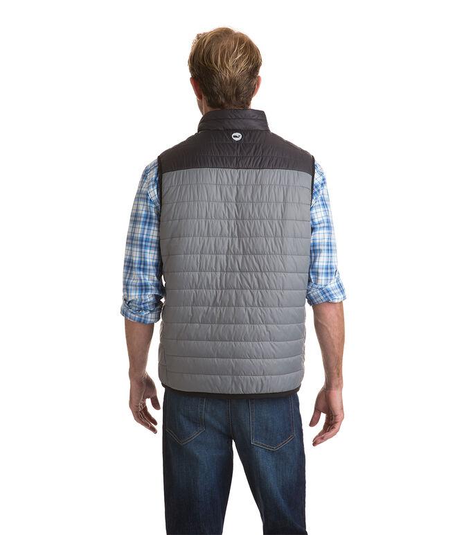 Grid Fleece Lined Mountain Weekend Vest