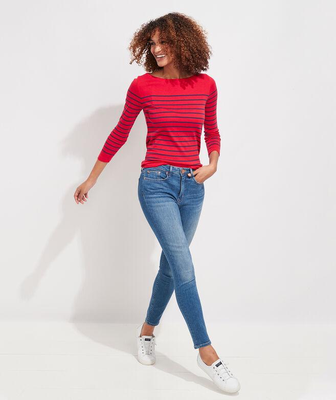 Jamie High-Rise Indigo Jeans
