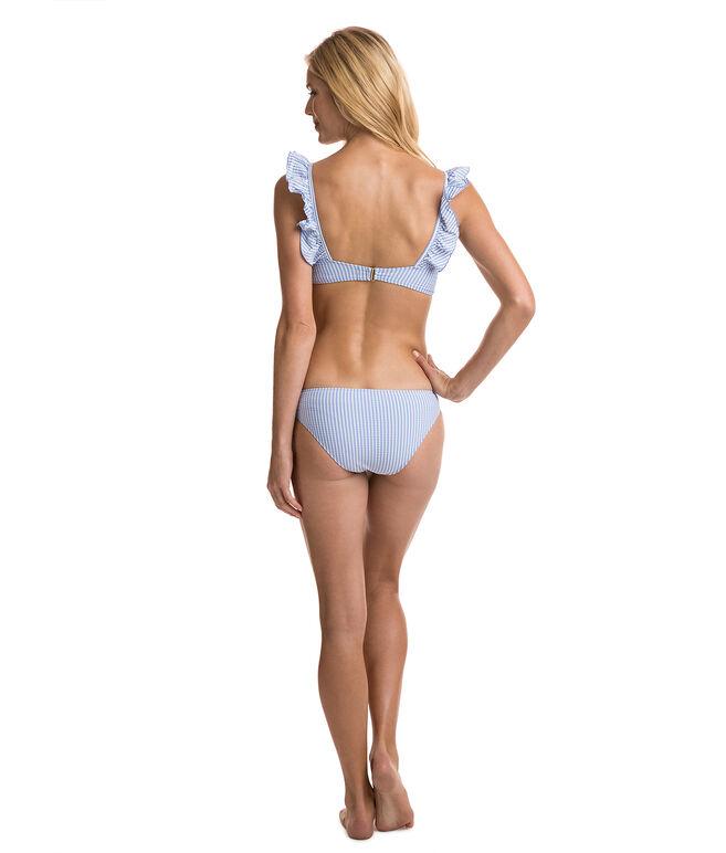 Seersucker  Classic Bikini Bottom
