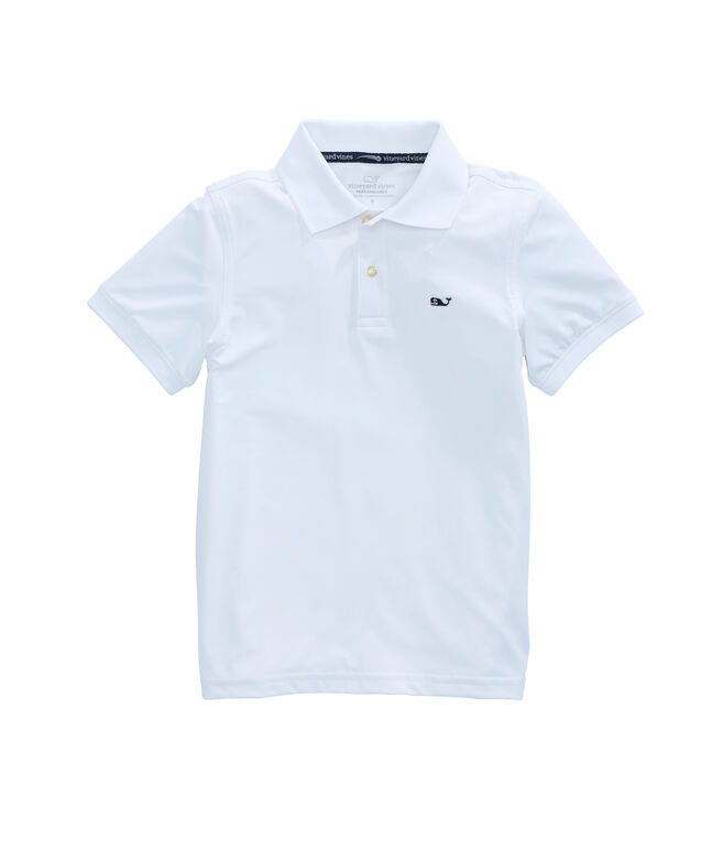 Boys Action Back Performance Polo