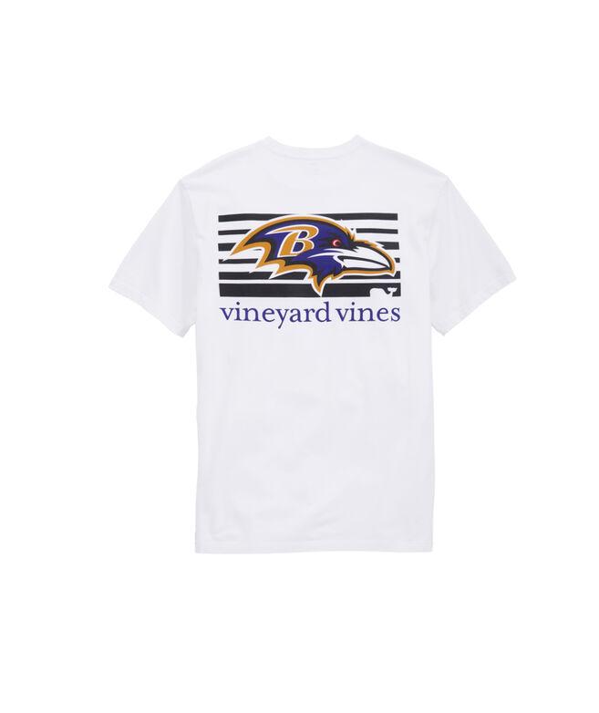 Baltimore Ravens Block Stripe Tee