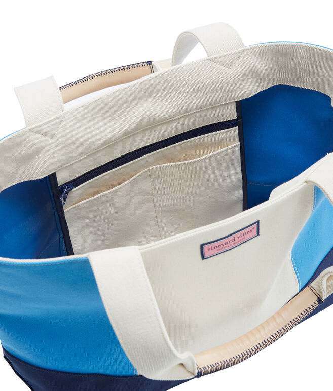 Colorblock Vineyard Tote