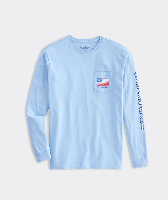 A-Whale-ica Long-Sleeve Pocket Tee