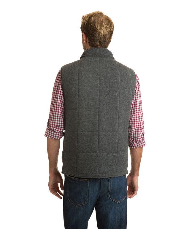 Reversible Full Zip Vest