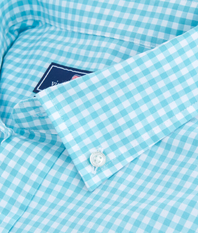 Seafloor Gingham Classic Murray Shirt