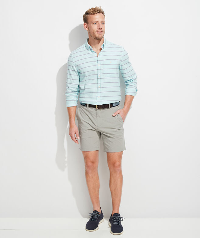 Slim Fit Singer Island Longshore Button-Down Shirt
