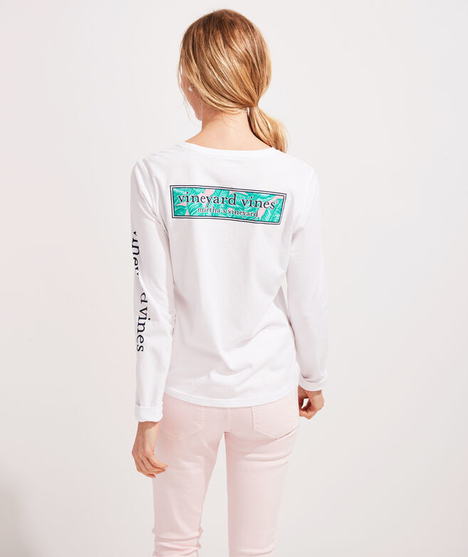 Banana Leaf Logo Long-Sleeve Pocket Tee