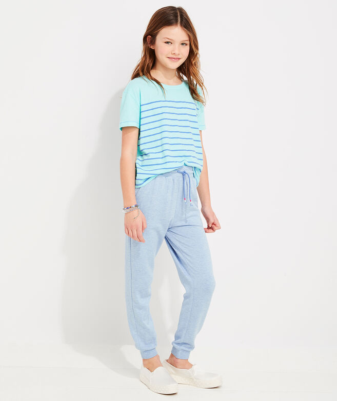 Girls' Striped Surftee