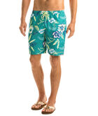 Aquatic Hibiscus Cabana Shorts