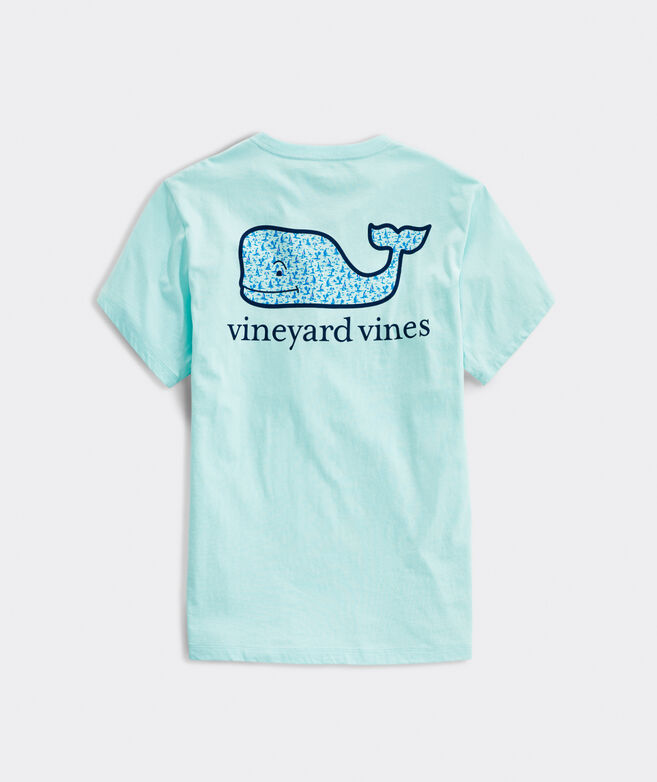 Atlantic Sailing Whale Short-Sleeve Pocket Tee