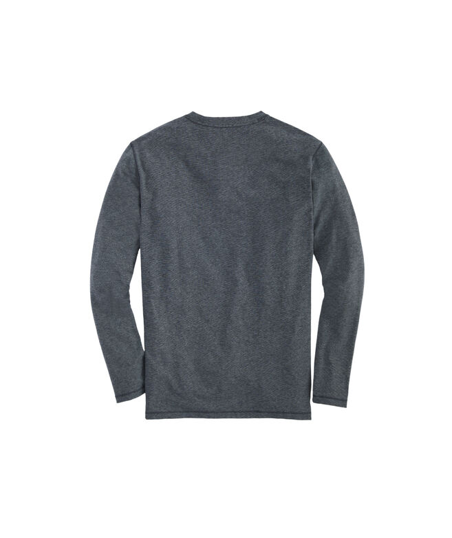 Long-Sleeve End-On-End Edgartown Henley Shirt