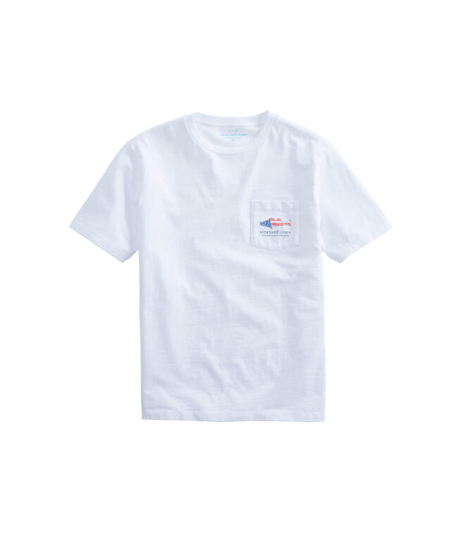 Grouper Flag Pocket T-Shirt
