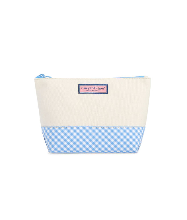 Gingham Cosmetic Case