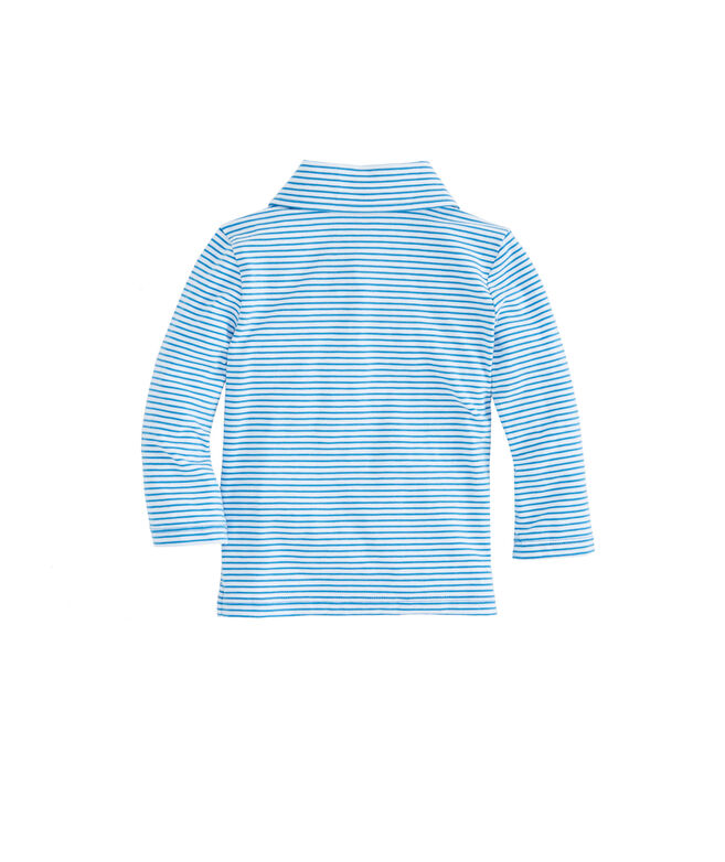 Baby Boy Long-Sleeve Shep Stripe Edgartown Polo (12-24 MO)