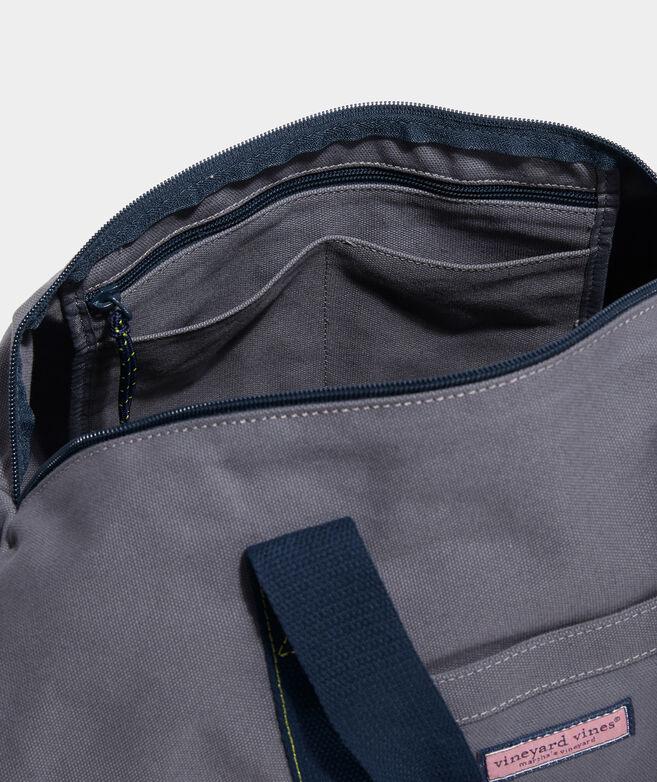 Boys' Pop Stripe Canvas Duffle Bag