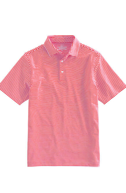 6d0c37d85136 Boston Red Sox Mens Winstead Stripe Sankaty Performance Polo ...