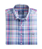 Wilfin Plaid Classic Tucker Shirt