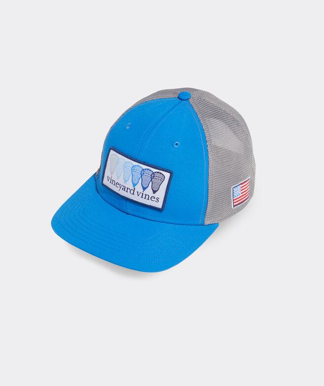 Lax Patch Performance Trucker Hat