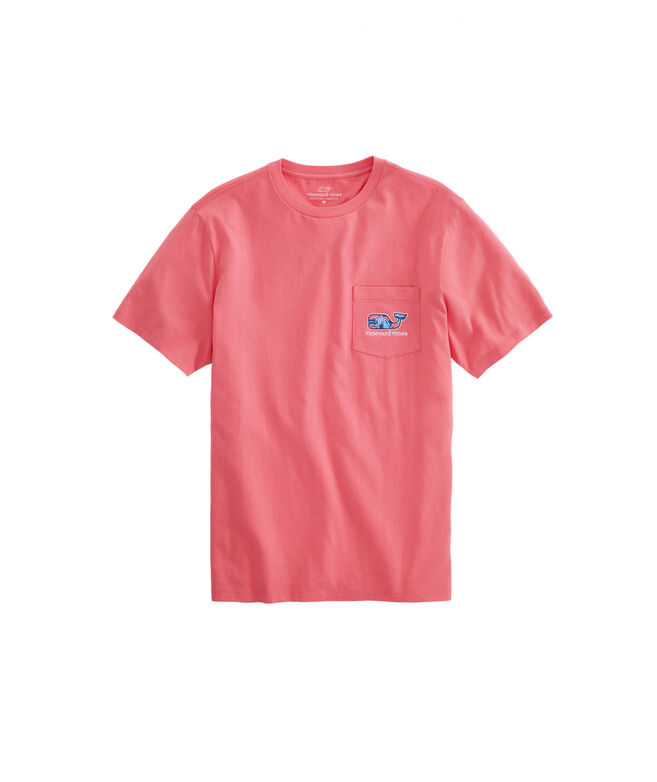 OUTLET Shell Crab Whale Fill Short Sleeve Pocket Tee