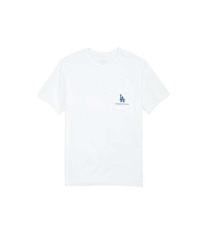 Los Angeles Dodgers Bar Flag T-Shirt