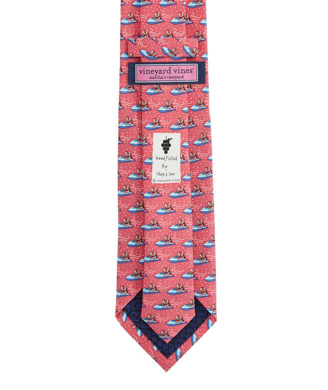Jetskiing Clauses XL Printed Tie