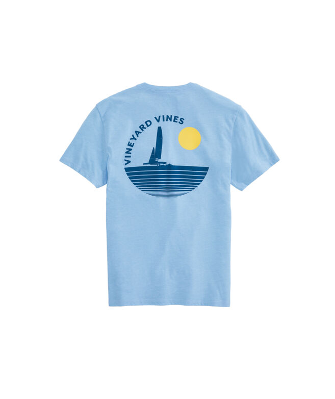 Twilight Sail Island Short-Sleeve T-Shirt