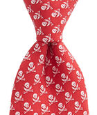 Pirate With Skulls Tie
