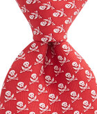 Pirate With Skulls Tie