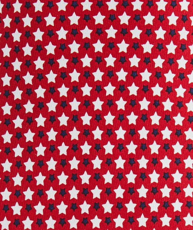 Star Spangled Printed Tie
