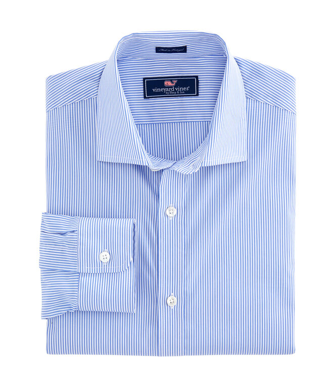 Hetherington Stripe Performance Cooper Shirt