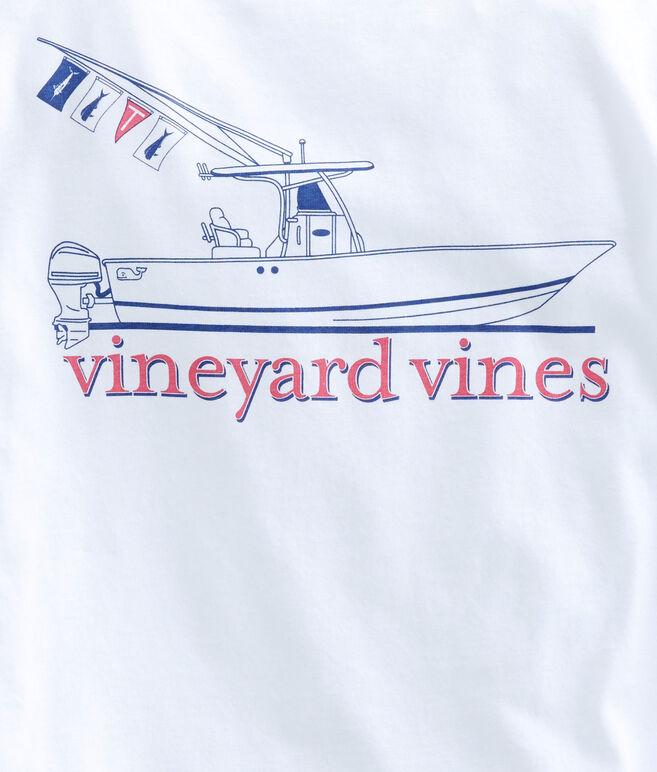 Boys Long-Sleeve Sportfisher Pocket T-Shirt